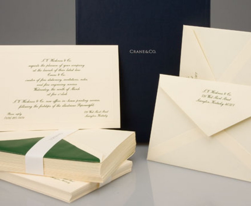 fine stationery invitations notes and printing services l v