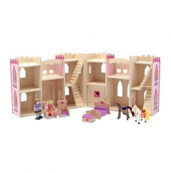 Fold and Go Princess Play Castle