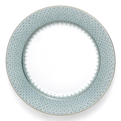 Green Lace Service Plate