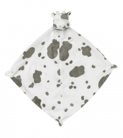 Grey and White Cow Blankie