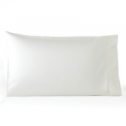 Giotto Ivory Standard Pillowcases, Pair