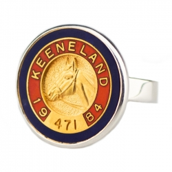 Custom Pin Ring/Keeneland