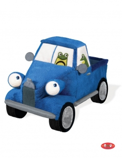 Little Blue Soft Truck Soft Toy