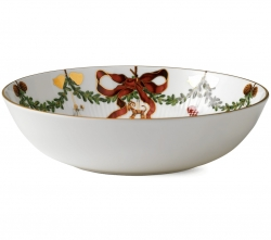 Star Fluted Christmas Bowl, 7 Cups