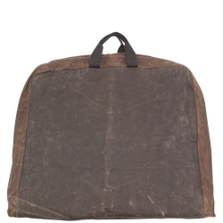 Olive with Khaki Trim Waxed Garment Bag