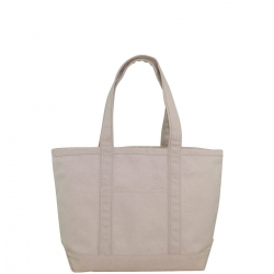 Natural Medium Boat Tote