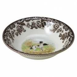 Woodland Flat Coated Pointer Ascot Cereal Bowl