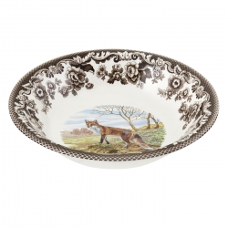 Woodland Red Fox Ascot Cereal Bowl