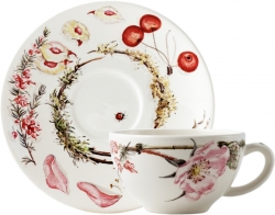 Bouquet Floral Breakfast Cup