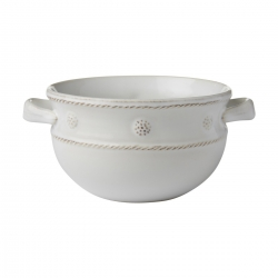 Berry & Thread Whitewash Two Handled Chilli Bowl