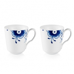 Blue Mega Mugs, Set of Two