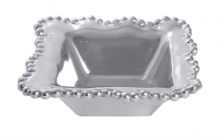 Pearled Wavy Condiment Bowl