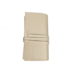 Travel Power Bank Holder, Pearl White