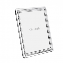Rubans Silver Plated 5x7 Picture Frame