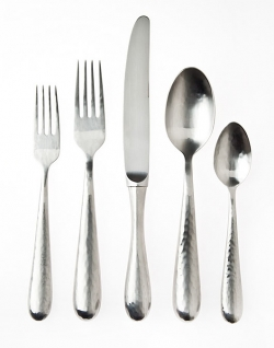 Florence Stainless Five Piece Place Setting
