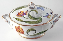 Old Master Tulips Round Soup Tureen