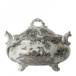 Platinum Aves Soup Tureen and Cover