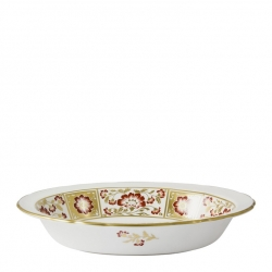Derby Panel Red Open Vegetable Dish