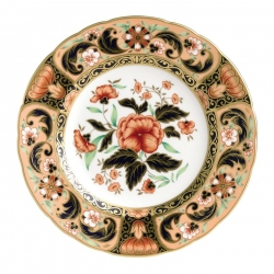 Imari Accent Derby Pink Camellias Accent Plate