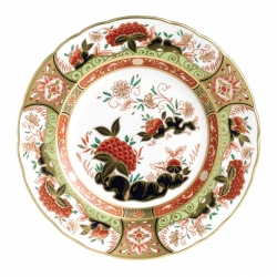 Imari Accent Golden Peony Accent Plate