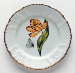 Old Master Tulips Yellow and Red Tulip Salad Plate