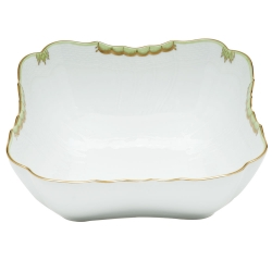 Princess Victoria Green Square Salad Bowl