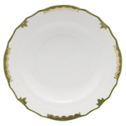 Princess Victoria Dark Green Salad Plate