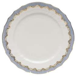Fish Scale Light Blue Service Plate