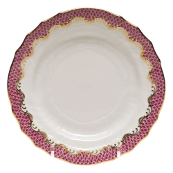 Fish Scale Pink Bread and Butter Plate
