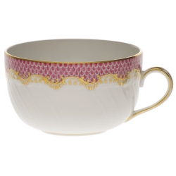 Fish Scale Pink Canton Cup