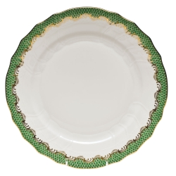 Fish Scale Jade Dinner Plate