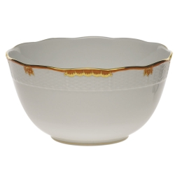 Princess Victoria Rust Round Bowl