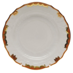 Princess Victoria Rust Bread and Butter Plate