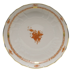Chinese Bouquet Rust Open Vegetable Bowl