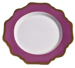 Anna's Palette Purple Orchid Bread and Butter Plate
