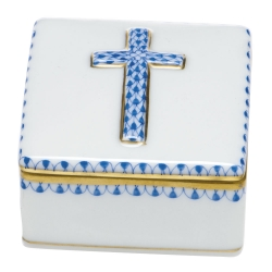 Blue Prayer Box