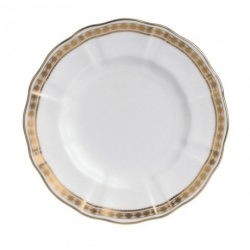 Carlton Gold Bread and Butter Plate
