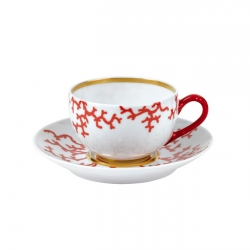 Cristobal Coral Tea Cup