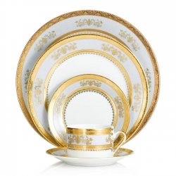 Orsay Powder Blue Five Piece Place Setting