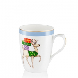 Dasher Christmas Mug
