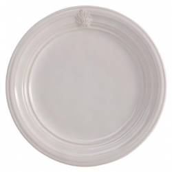 Acanthus Whitewash Dinner Plate