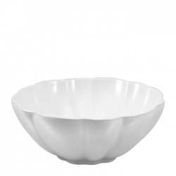 Hartland Scallop Stone Cereal/Soup Bowl