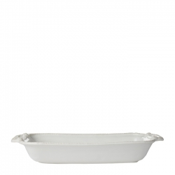 Le Panier Whitewash Shallow Baker, 16