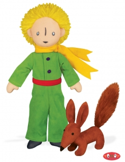 The Little Prince and Fox Soft Toy Pair