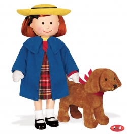 Poseable Madeline Doll with Genevieve Soft Toy