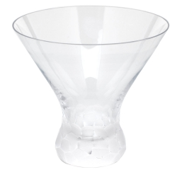 Pebbles Clear Stemless Martini