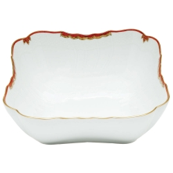 Princess Victoria Rust Square Salad Bowl