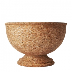 Quinta Natural Cork Centerpiece Bowl and Ice Bucket