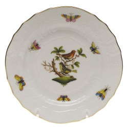 Rothschild Bird Bread and Butter Plate, Motif #3