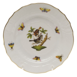 Rothschild Bird Bread and Butter Plate, Motif #4